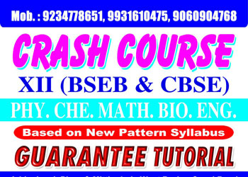Tutorial for Class XII in Patna